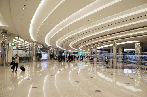 Areporto de Dubai - Emirados Árabes Unidos.
