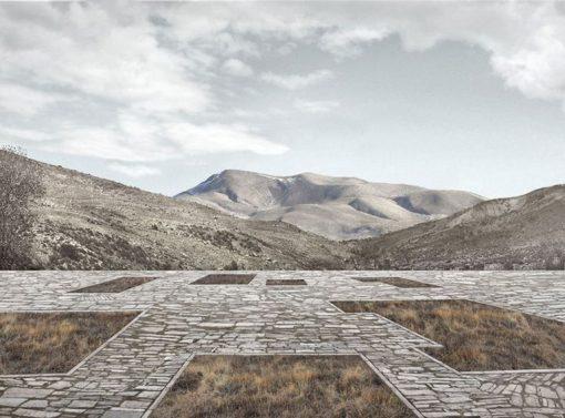 Kostas Manolidis, Stone Platform, Ano Kerasia – Grécia.