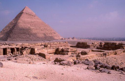 Pirâmide no Egito